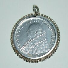 More details for pope john xxiii 1962 coin in a sterling silver holder.