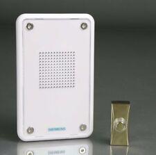 Siemens Con cable grabable MP3 de puerta Swann con efecto latón campana Push DCW20/DCW15