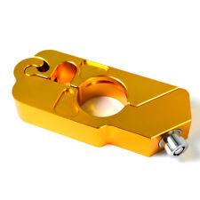 Bremshebelschloss Lenkerschloss Motorradschloss  gold