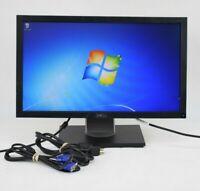 """Dell E2011Hc 20"""" LCD Monitor VGA DVI Grade A"""