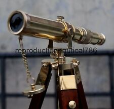 Vintage Spy Glass Desk Telescope With Stand Gift Nautical Balcony Telescope Gift