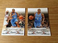 Russell Westbrook Kevin Durant NBA Basketball Trading Card Panini Prestige 2009