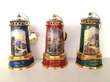 Thomas Kinkade Lighthouse Seaside Reflection Ornament Collection Third Issue