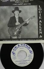 Rare Country North Carolina 45 Louie Allen Jr - Petit Bitty Country Boy / I Can