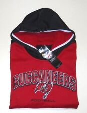 TAMPA BAY BUCCANEERS PULLOVER HOODED SWEATSHIRT YOUTH SIZE LARGE (14-16)-RED-NWT