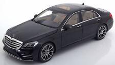 I-SCALE 2017 Mercedes Benz S Klasse V222 MOPF Black (DEALER) 1:18*New Item!