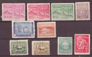 lot 10 timbres anciens stamps BOLIVIE BOLIVIA neufs**