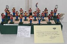 ALYMER MILITARY MODELS 20 PC, U.S. PRESIDENT'S OWN (USMC) MILITARY BAND, RETIRED