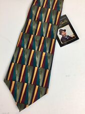 Frank Sinatra 100% Silk Neck Tie Highway 111 Birthday Collection Stonehenge 57""