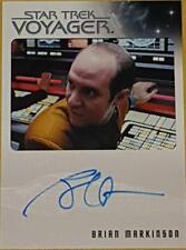Brian Markinson (Peter Durst) Star Trek Voyager Heroes & Villains Autograph Card