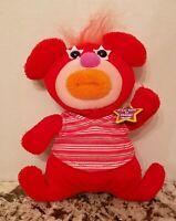Fisher Price 2010 Pink Sing A Ma Jig Mattel Talking Singing Plush Red