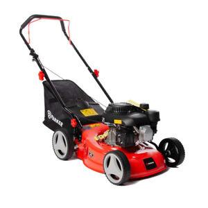 "Petrol Lawn Mower - 17"" Hand Push"