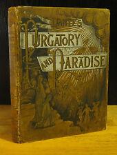 DANTE'S PURGATORY & PARADISE (1885) GUSTAVE DORE, Alighieri, 1st Altemus Edition