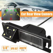 4LED Car Rear View Camera For Opel Astra H J Corsa Meriva Vectra Zafira Insignia