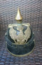 More details for prussian dragoon pickelhaube helmet- other ranks