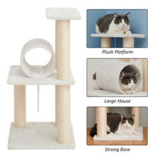"""New listing 33"""" Cat Tree Tower Condo House Scratching Post Sisal Play Kitty Climbing Toys Us"""