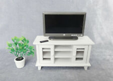 1:12 Scale Dollhouse Miniature TV-and Remote Cute mini Furniture Accessory