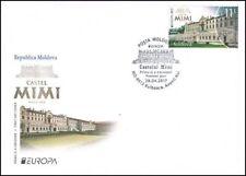 MOLDOVA 2017 Europa CEPT Castles - FDC