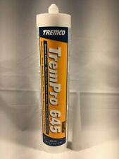 TremCo TremPro 645 High Performance Neutral Cure Silicone Sealant Glossy Caulk