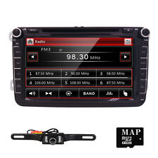 "8"" Car Stereo DVD Player For VolksWagen VW GPS Navi Touch Screen BT TV + Camera"