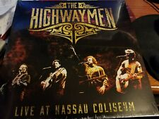 The Highwaymen Live at Nassau Coliseum Clear Vinyl Record Exclusive