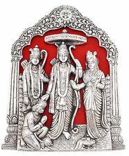 Ram Darbar Wall Hanging Statue Sita Laxman Hanuman Metal Figurine Idol New