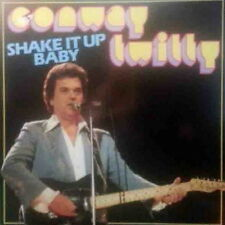 """12"""" Conway Twitty Shake It Up Baby (Born To Sing the Blues, Crazy Dream) 80`s"""