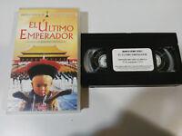 EL ULTIMO EMPERADOR VHS CINTA TAPE BERNARDO BERTOLUCCI CASTELLANO