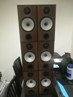 Monitor Audio Bronze BX2, Reference, Hifi Speakers Pair Bi-amp