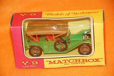 Matchbox Y-9 - Models of Yesteryear - 1912 Simplex grün in OVP