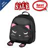 Cat Backpack Leather Backpack Women School Mini Backpacks Teenage Girls Boys