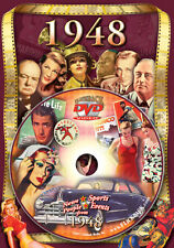 1948 Flickback DVD Greeting Card: 70th Birthday Gift or 70th Anniversary Gift