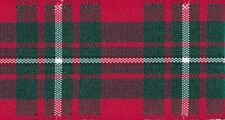 Berisfords Macgregor Tartan Ribbon 6 Widths 6 Lengths, Free UK Post Multibuy