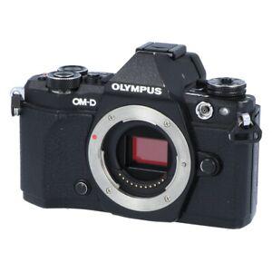 Olympus OM-D E-M5 Mark II schwarz Gehäuse Messeware, kpl. geprüft #LC1