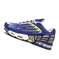 NIKE MENS Shoes Air Max Plus III - Deep Royal, Gold & White - OW-CW1417-400