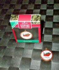 "1991 Hallmark Keepsake Miniature Ornament ""Country Sleigh"""