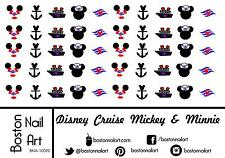 Disney Cruise Line Waterslide Nail Decals - 50pc - BNA-10090