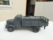 1/35 escala alemán KHD s3000 Ejército camión Construido y pintado.