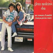 45 Giri  GLENN MEDEIROS - UN ROMAN D'AMITI� / YOU'RE MY WOMAN, YOU'RE MY LADY
