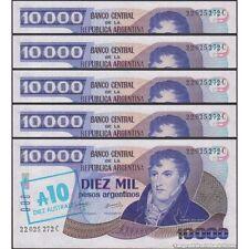 TWN - ARGENTINA 322c - 10/10000 Austral/Pesos 1985 UNC - Serie C DEALERS x 5
