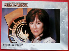 BATTLESTAR GALACTICA - Premiere Edition - Card #59 - Fight or Flee?