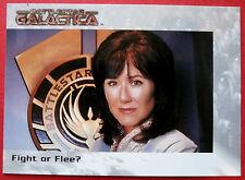 BATTLESTAR GALACTICA - Premiere Edition - Card #59 - Fight or Flee?