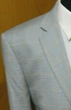 Mens Blazer Sport coat Jacket Talazzi 42r Super 150's Multi  Blue NWOT N#132