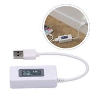 USB LCD Detector Voltmeter Ammeter Power Capacity Battery Current Meter Teste#'