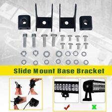 Universal Brackets Mounting Base Bracket LED Light Bar Slide Mount for LED Light