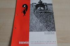 144120) Rabewerk Spatenkrümler Spatenrollegge Prospekt 07/1968