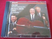FAURE: PIANO TRIO OP 120 - BEAUX ARTS TRIO - KASHKASHIAN - PHILIPS (CD 1990 USA)