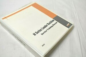 CASE M Series Loader Backhoe Shop Service Training Manual & Schematics