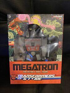 "Megatron  Figure Transformers vs GI Joe x Kidrobot 9"" Brand New"