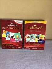 Mixed Lot Of 2 Hallmark Card Studio 2010 2012 Greeting Card Software Windows